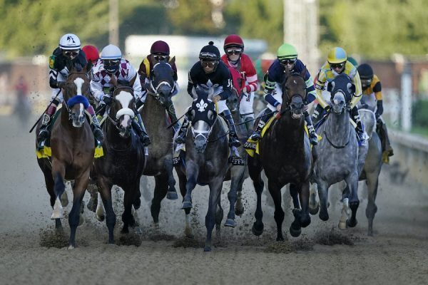horses starting to race at 2020 kentucky derby