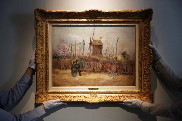 Van Gogh rare painting auction NFT investors