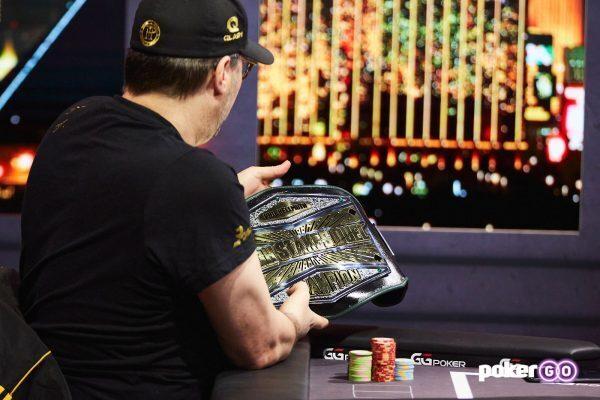 Phil Hellmuth memenangkan High Stakes Duel II Round 1