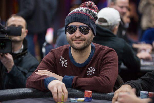 Roberto Romanello at the poker felt