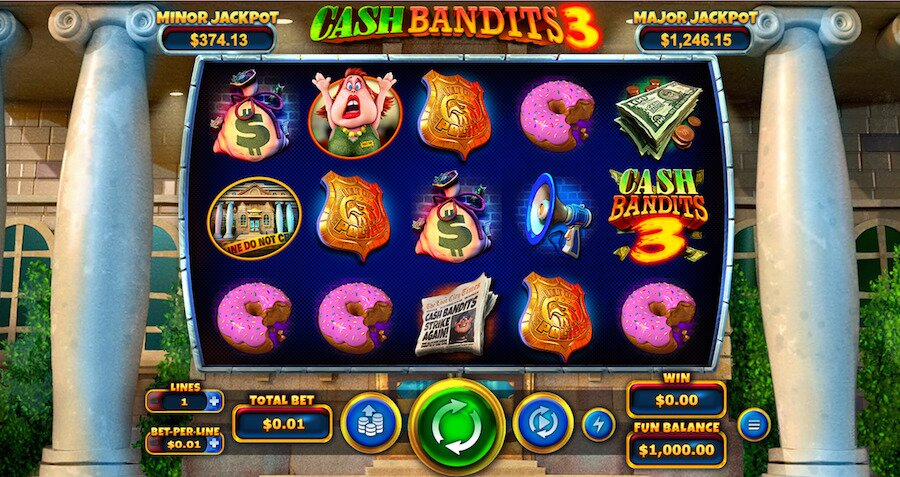 cash bandits 3 slot game
