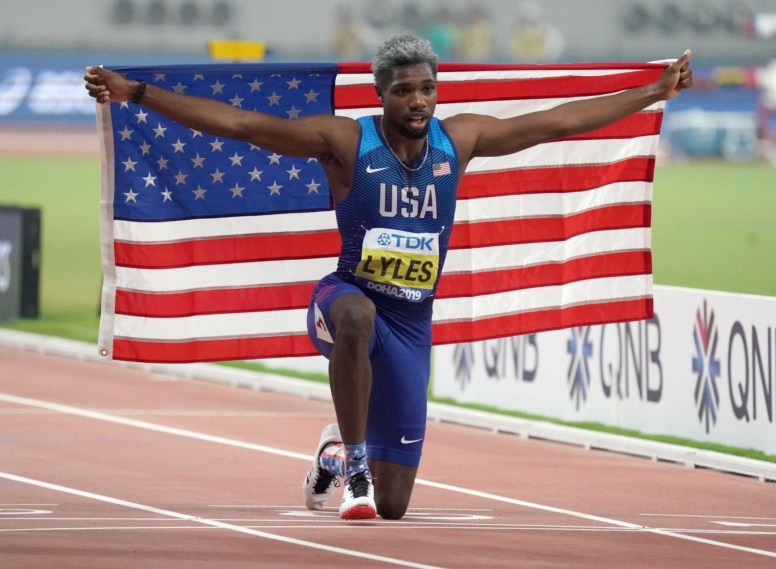 Noah Lyles Tokyo Olympics