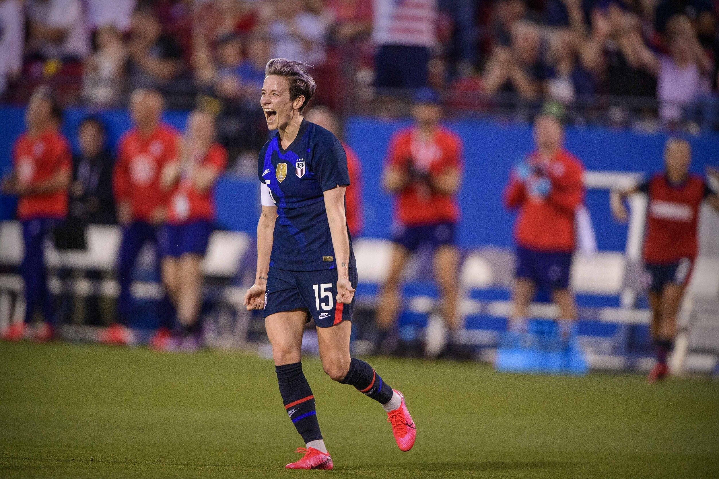 Team USA Women's Soccer Tokyo Olympics