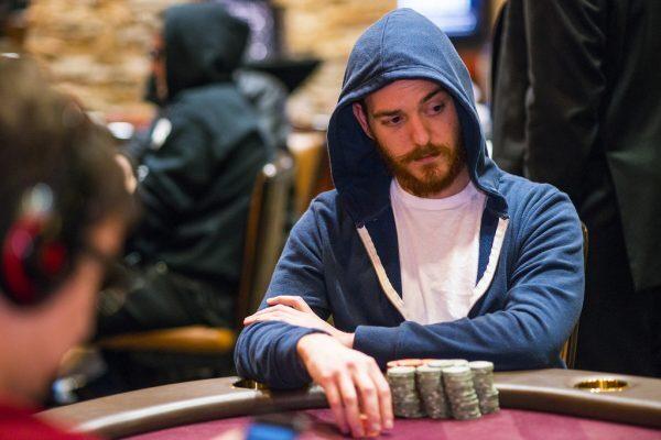 Harrison Gimbel bermain poker
