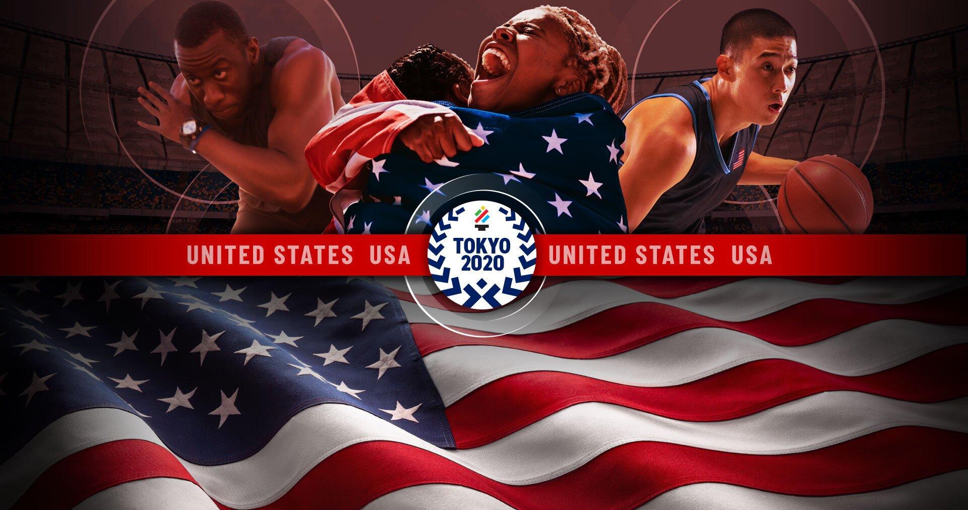 Tokyo Olympics Team USA banner image