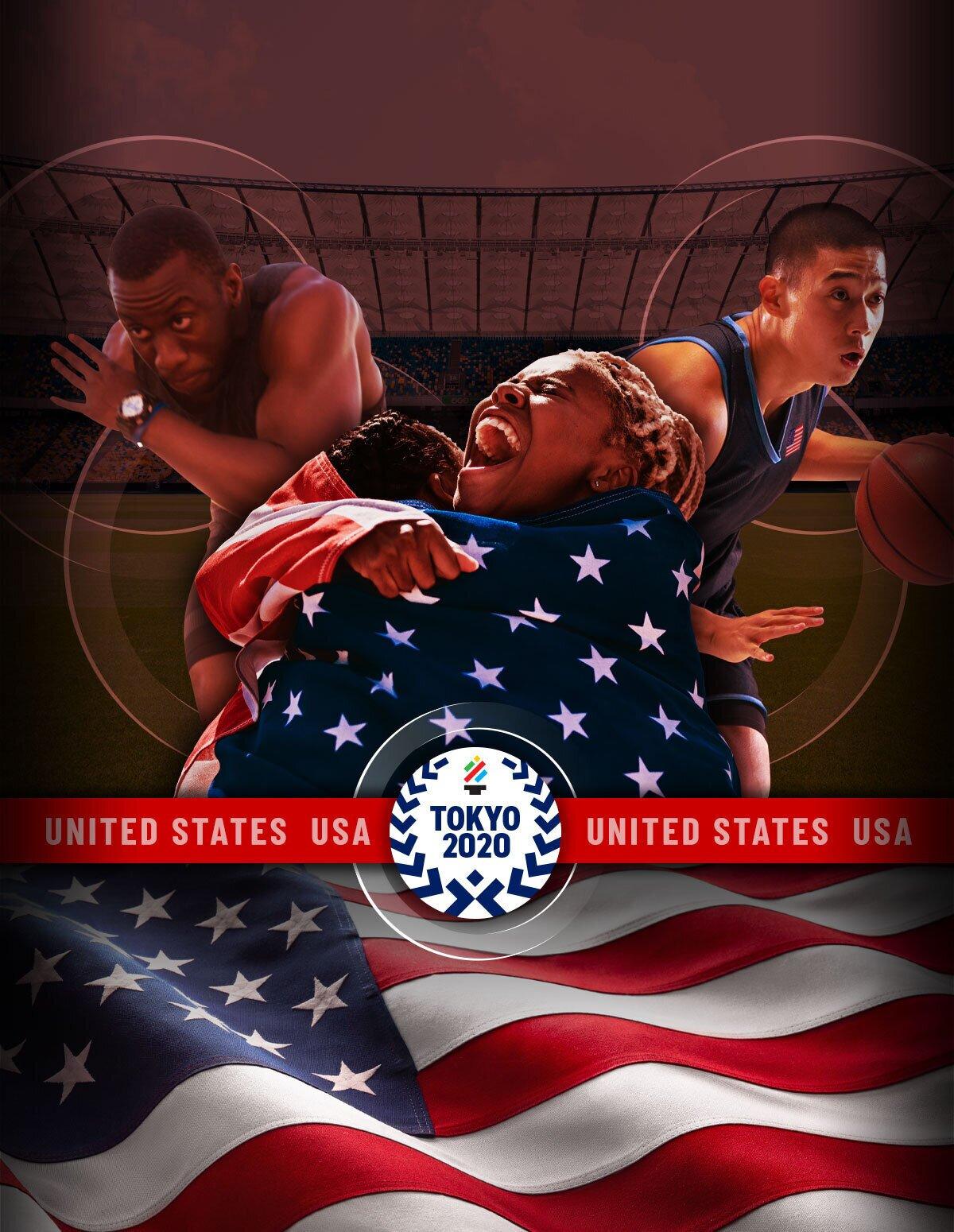 Tokyo Olympics Team USA mobile image