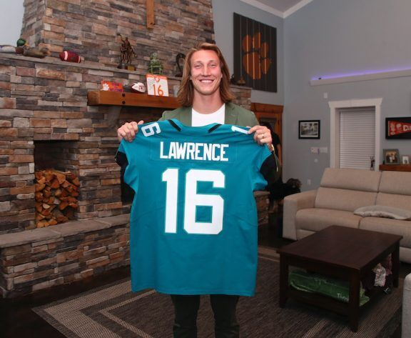 Jaguars? Trevor Lawrence Favored To Win NFL Offensive Rookie Of The Year